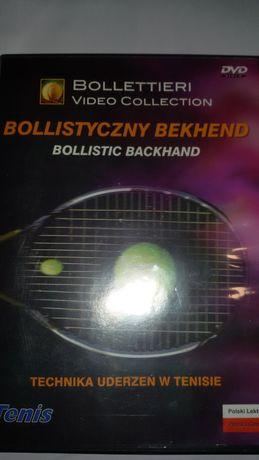 Nick Bollettieri DVD Tenis ziemny bollistyczny backhand technika gry