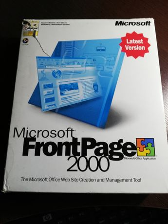MS FrontPage 2000 Box
