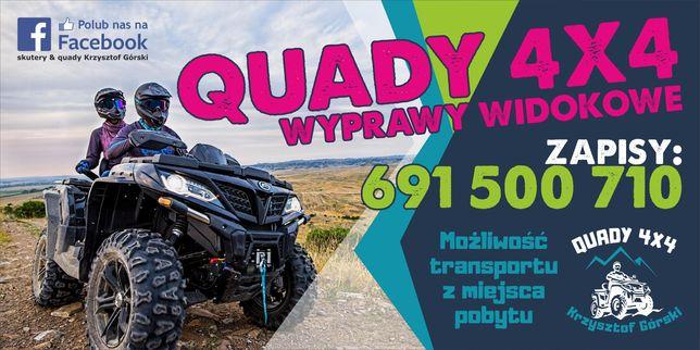 Quady 4x4 Wyprawy wdokowe Zakopane i okolice BON TURYSTYCZNY