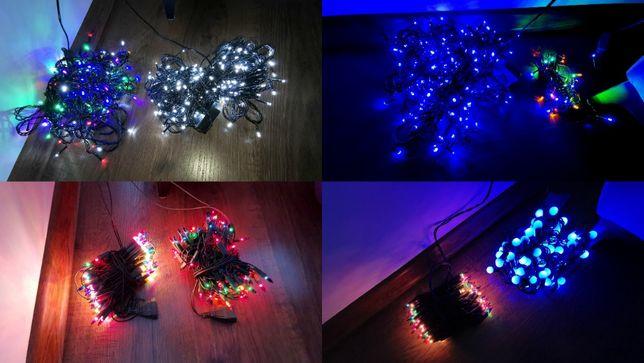 OKAZJA!!! 8 x LED Lampki choinkowe/ oświetlenie. JAK NOWE!!!
