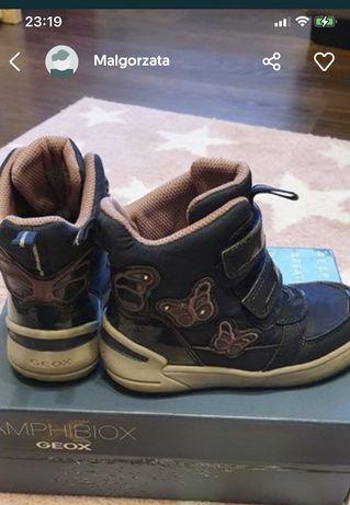 Buty zimowe śniegowce Geox 27 na gwarancji