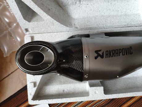Kawasaki Ninja 650 wydech akrapovic komplet z650 kolektory