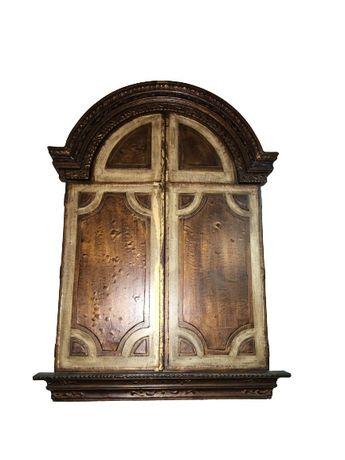 Grandioso tripico, arte sacra, religioso antigo