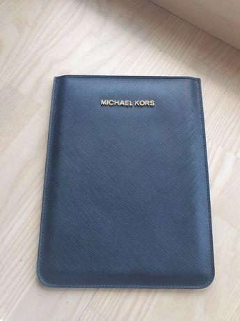 Piękne, czarne etui Michael Kors, iPad mini, tablet, skóra Saffiano,MK