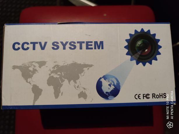 Kamery, switch, rejestrator
