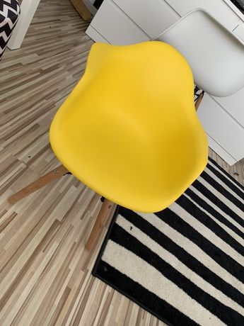 Fotel krzesełko skandynawski styl