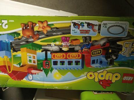 LEGO 2 zestawy pociag w oryginalnym pudełku plus drugi zestaw