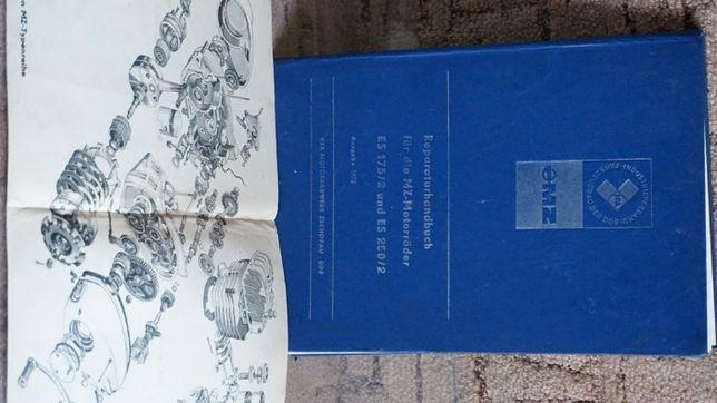 oryginalna, niemiecka książka serwisowa EMZ