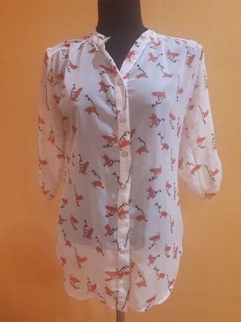 Блуза с котиками
