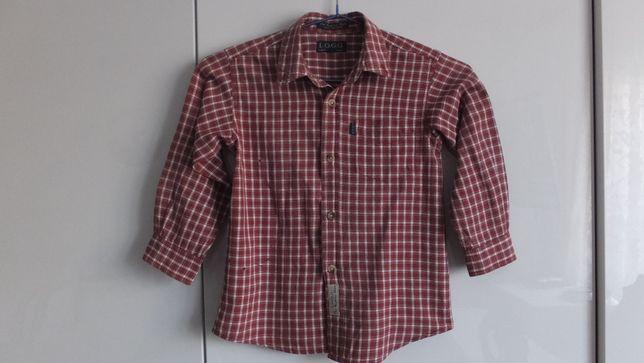 Рубашка L.O.G.G. H&M Швеция с длинными рукавами р.98 на 3 - 4 года