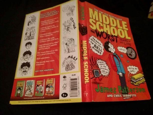 английский книга Middle School The Worst Years of My Life Д Паттерсон