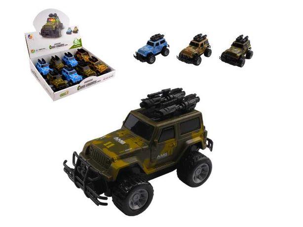 Samochód Jeep AMG z Dziękiem i światlem