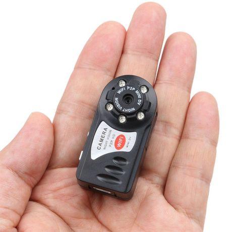 Kieszonkowa Mini Kamera Q7 5xIR HD P2P WiFi