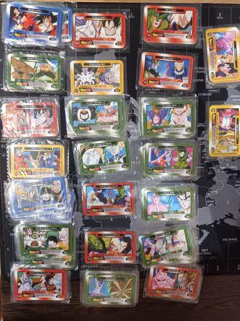 Karty Dragon Ball Chio walki Z i GT oryginalna folia