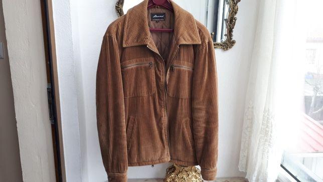 casaco bombazine castanho