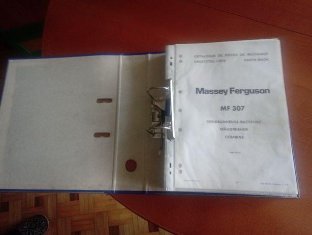 Katalog części zamiennych Massey Ferguson 307