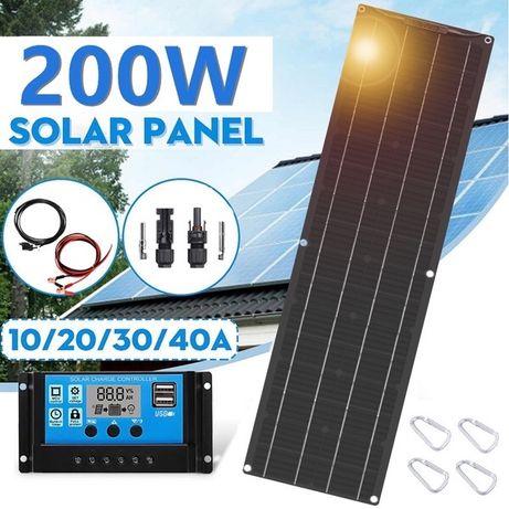 Painel Solar 200W campervan autocaravana