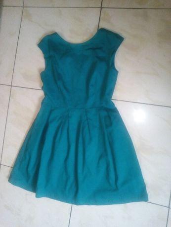 ZIelona sukienka TROLL, rozm.L