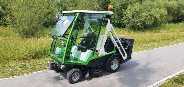 Kosiarka traktorek Etesia 124 dx 4x4 kabina wysoki wysyp