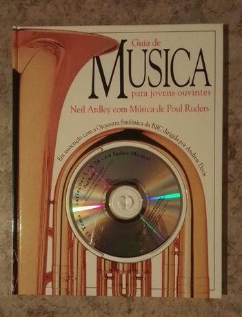 Livro + cd Guia da Música