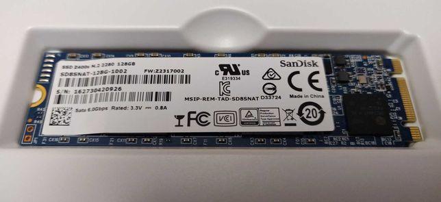 SSD SanDisk 128GB,  m.2  (2280)