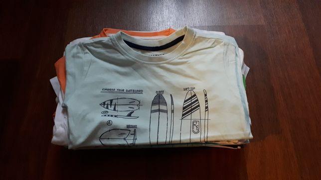T-shirty na krótki rękaw 13szt.r.110