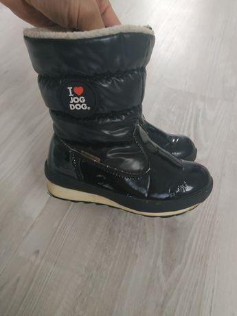 зимние дутики ботинки сапожки jog dog 24 размер 15 см стелька
