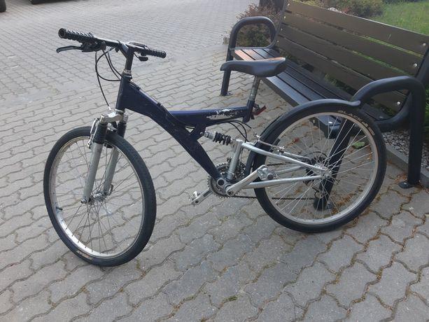 Rower młodzieżowy chłopięcy koła 24 cale