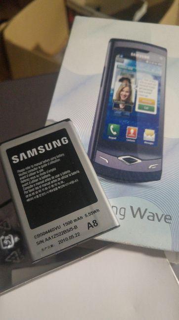 Bateria Samsung Wave semi nova + caixa original e varias peças.