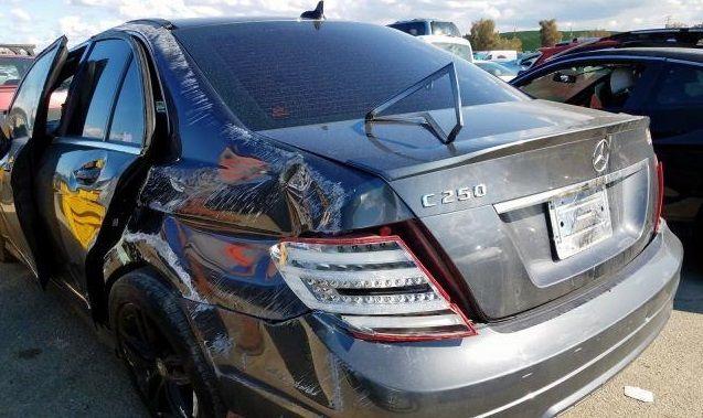 Разборка Mercedes-Benz C 250 2013 Charcoal 1.8л запчасти