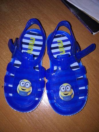 Силиконовые сандалии мыльницы