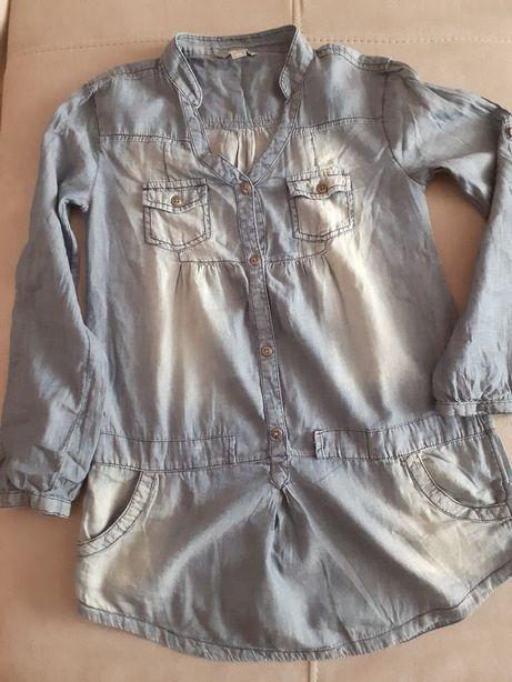 Koszula dziewczęca 134