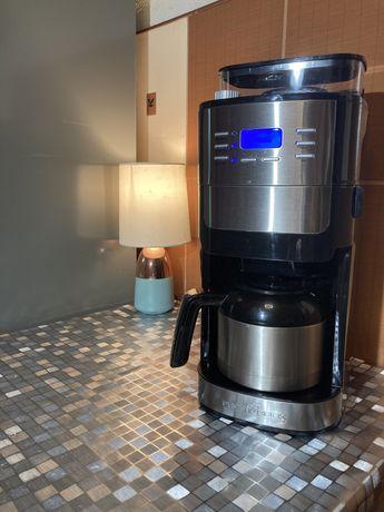 Ekspres do kawy z programowalny z młynkiem i termosem PROFI COOK