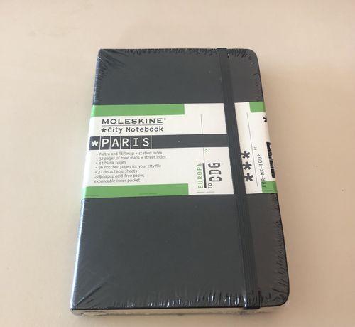 Caderno Moleskine Paris- NOVO