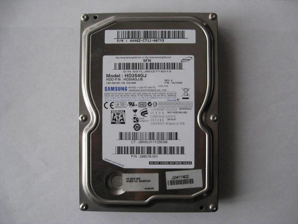 "Жёсткий диск винчестер HDD 3.5"" 250 Gb SATA для компьютеров"
