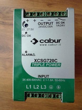 Zasilacz impulsowy trójfazowy 3x340-550VAC 24VDC 30A 750W XCSG720C