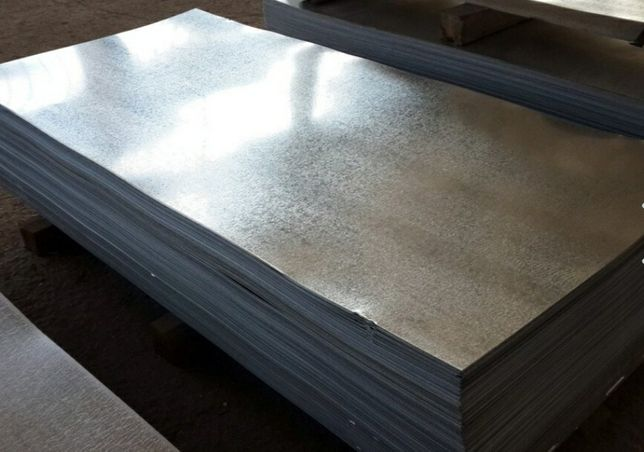 Оцинкованный метал 2,04 ×1.02м толщина 0,7