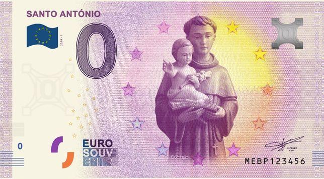 Nota de 0€ (zero euros): Santo António