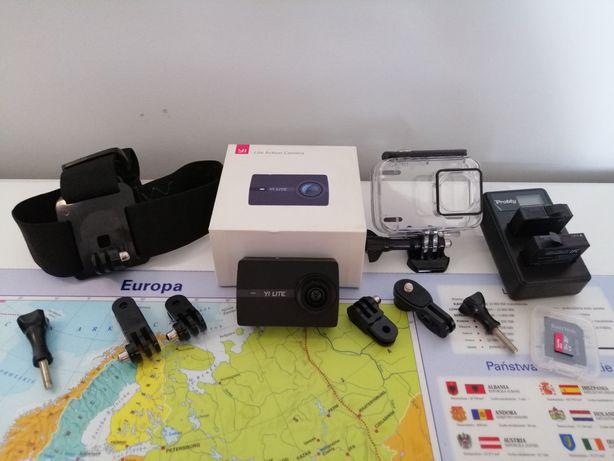 Kamerka sportowa(GoPro) yi 4k lite+ akcesoria