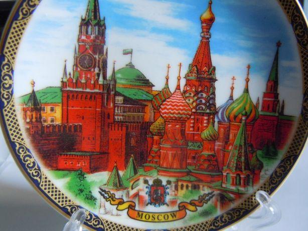 сувенир тарелка Собор Василия Блаженного