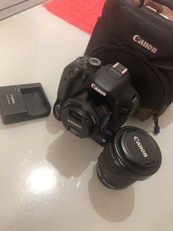 Canon 600D com extras