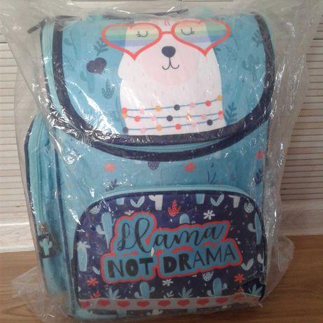 Nowy tornister szkolny Premium St. Majewski Lama plecak
