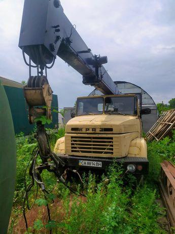Краз автокран КС3575А