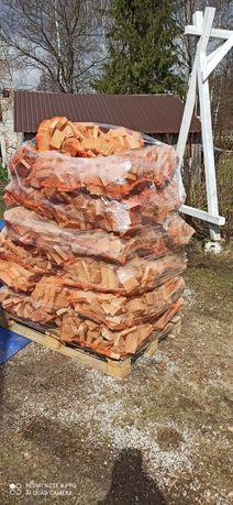 Drewno dębowe workowane