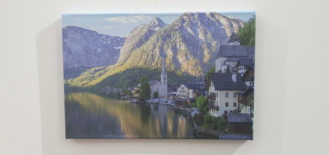 Quadro Tela - Fotografia original Hallstatt 30x45cm
