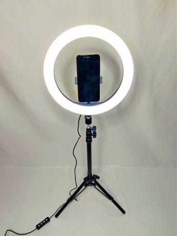 [NOVO] Ring Light c/ Anel 30 cm + Tripé Extensível [50 cm - 110 cm]