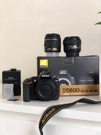 Камера NIKON D5600 + NIKKOR 18-55mm VR kit