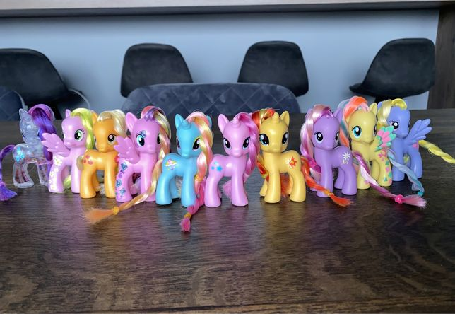 ZESTAW my little Pony oryginalne Hasbro 8 cm Polecam