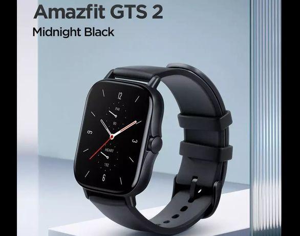 (NOVO) Amazfit GTS 2 Midnight Black - AMOLED Speaker Microfone