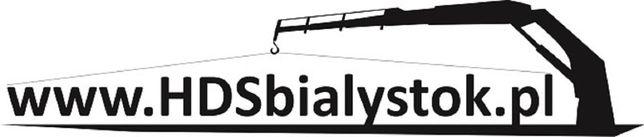 Usługi transportowe HDS. Usługi dźwigowe z HDS.  Firma HDSbialystok.pl